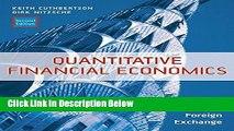 Download Quantitative Financial Economics: Stocks, Bonds and Foreign Exchange Book Online