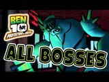 Ben 10: Protector of Earth All Bosses | Boss Battles (Wii, PS2, PSP)