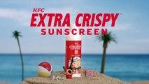 La crème solaire KFC senteur poulet