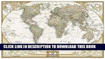 New Book World Executive Poster Sized Wall Map (Tubed World Map) (National Geographic Reference Map)