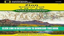 New Book Zion National Park (National Geographic Trails Illustrated Map)