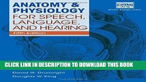 Collection Book Anatomy   Physiology for Speech, Language, and Hearing, 5th (with Anatesse
