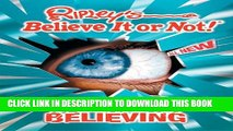 Collection Book Ripley s Believe It or Not! Seeing Is Believing!