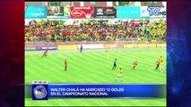 Walter Chalá ha marcado 12 goles en el Campeonato Nacional