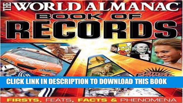 New Book World Almanac Book of Records: Firsts, Feats, Facts   Phenomena