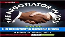 New Book The Negotiator in You: SALES (Negotiator in You series)
