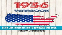 New Book 1936 U.S. Yearbook: 1936 U.S. Yearbook: Interesting original book full of facts and