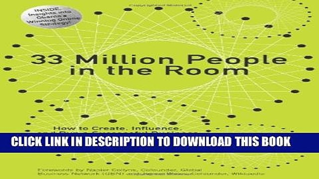 New Book 33 Million People in the Room: How to Create, Influence, and Run a Successful Business