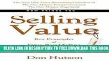 Collection Book Selling Value: Key Principles of Value-Based Selling