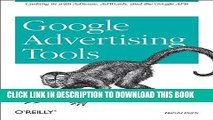 Collection Book Google Advertising Tools: Cashing in with Adsense, Adwords, and the Google APIs