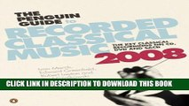 Collection Book The Penguin Guide to Recorded Classical Music 2008