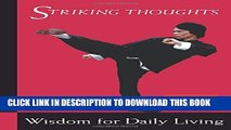 [PDF] Bruce Lee Striking Thoughts: Bruce Lee s Wisdom for Daily Living (Bruce Lee Library) Popular