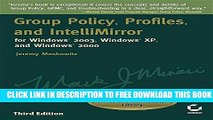 Collection Book Group Policy, Profiles, and IntelliMirror for Windows 2003, Windows XP, and