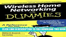 Collection Book Wireless Home Networking For Dummies (For Dummies (Computer/Tech))