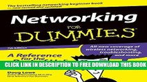 New Book Networking For Dummies (For Dummies (Computers))