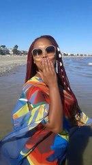 Une Africaine affole les baigneurs d'une plage française