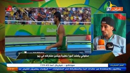 Makhloufi sur El Heddaf Tv