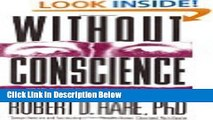 [Reads] Without Conscience: The Disturbing World of the Psychopaths Among Us Online Ebook