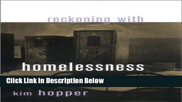 [Best] Reckoning with Homelessness (Anthropology of Contemporary Issues) Free Ebook
