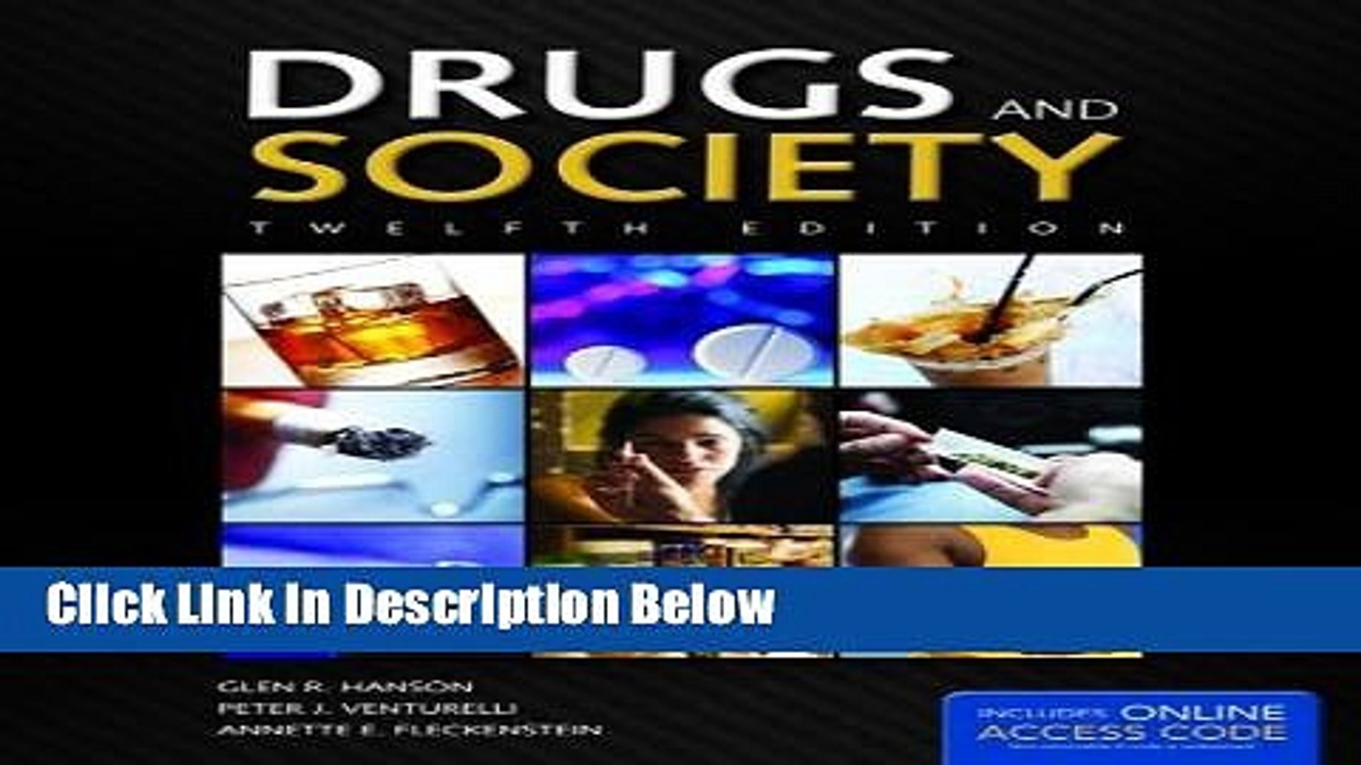 [Best Seller] Drugs And Society (Hanson, Drugs and Society) New Reads