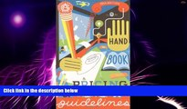 Must Have PDF  Graphic Artists Guild Handbook : Pricing   Ethical Guidelines (Graphic Artists