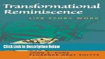 [Fresh] Transformational Reminiscence: Life Story Work New Books