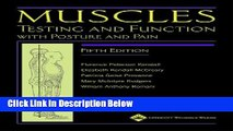 [Fresh] Muscles: Testing and Function, with Posture and Pain (Kendall, Muscles) New Ebook