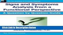 [Fresh] Signs and Symptoms Analysis from a Functional Perspective New Ebook