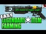 Fallout 4 - Easy Legendary Weapons/Items Farming Method (Farming Best Weapons with Syringe Larva)