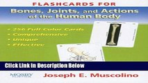 [Fresh] Flashcards for Bones, Joints and Actions of the Human Body, 1e Online Books