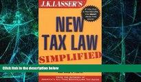 Big Deals  J.K. Lasser s New Tax Law Simplified  Best Seller Books Best Seller