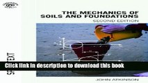 Download The Mechanics of Soils and Foundations, Second Edition  PDF Online
