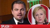Leonardo DiCaprio ist nicht mehr Gastgeber des Hillary Clinton Events