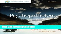 [Reads] Brooks/Cole Empowerment Series: Psychopathology: A Competency-Based Assessment Model for