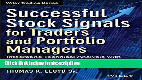 [Get] Successful Stock Signals for Traders and Portfolio Managers, + Website: Integrating