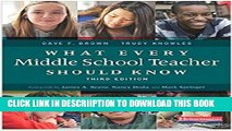 [PDF] What Every Middle School Teacher Should Know, Third Edition Full Colection