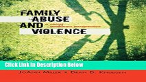 [Get] Family Abuse and Violence: A Social Problems Perspective (Violence Prevention and Policy)
