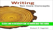 [PDF] Writing: Ten Core Concepts Popular Colection