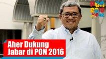 Dukungan Gubernur Aher Untuk Kontingen Jawa Barat di PON 2016
