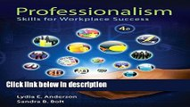 [Get] Professionalism: Skills for Workplace Success Plus NEW MyStudentSuccessLab -- Access Card