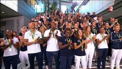 Audience: Le 20h spécial de France 2 avec les médaillés olympiques attire 3,7 millions de téléspectateurs