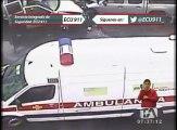 Impactantes accidentes de tránsito son registrados por las cámaras de ECU911