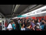 Pane lota plataformas na Linha 9-Esmeralda da CPTM