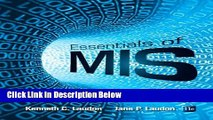 [Best] Essentials of MIS (11th Edition) Online Ebook