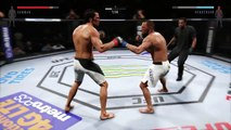 UFC 2 GAME 2016 MIDDLEWEIGHT BOXING UFC CHAMPION BOXERS MMA ● JOSH SAMMAN VS DAN HENDERSON