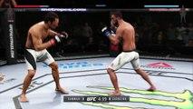 UFC 2 GAME 2016 MIDDLEWEIGHT BOXING UFC CHAMPION BOXERS MMA ● JOSH SAMMAN VS ROAN CARNEIRO