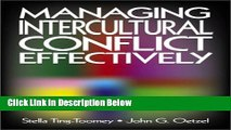 [Get] Managing Intercultural Conflict Effectively (Communicating Effectively in Multicultural