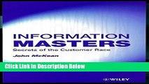 [Fresh] Information Masters: Secrets of the Customer Race Online Ebook