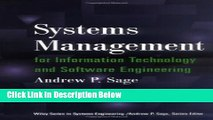 [Fresh] Systems Management for Information Technology and Software Engineering: 1st (First)