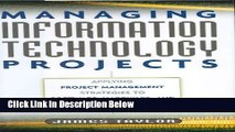 [Reads] Managing Information Technology Projects: Applying Project Management Strategies to
